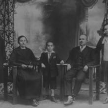 Makray Antal és családja, 1920-as évek