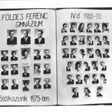 1966-ban egyszerre léptük át a Földes Gimnázium küszöbét. Ők gólyaként, én kezdő tanárként.