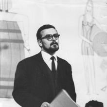 Ratkó Józseffel a miskolci Nehézipari Műszaki Egyetemen, 1970-es évek eleje